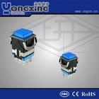 Hot sale IP40 3A 250V AC Single pole Face mask illuminated Latch Led push button micro switch