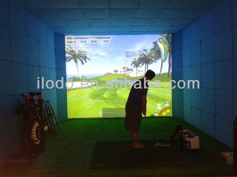 Microscene indoor golf equipment