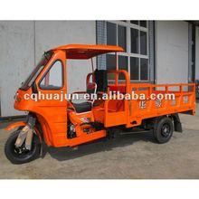 HUJU 200cc pedicab cargo trikes with semi-cabin