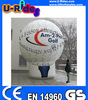 inflatable balloon model with white color snf printing