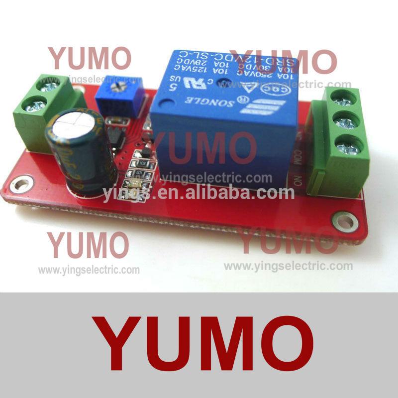 relay module delay switch NE555 module 12v timer 0-20S