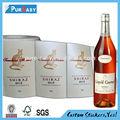 Personnalisé de haute qualité du vin et bouteille d'alcool société d'impression d'étiquettes