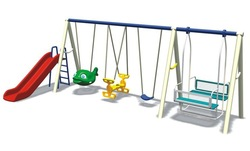 2014 new design Outdoor seesaw children swinging