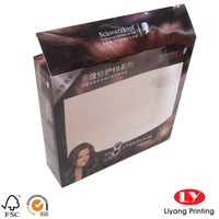 High Quality Transparent Window Paper Box For Brand Underwear/Socks