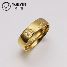 Competitive price Stainless steel wedding rings wholesale