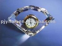 wedding favor crystal table clock