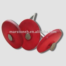 Plastic Red Cap Nail- Australia Standard