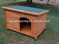 clássico e isolados de madeira canil