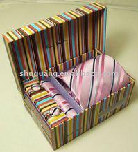 Personnalisé cravate cadeau boîte