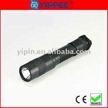 Plam AAA battery waterproof high power led flashlight