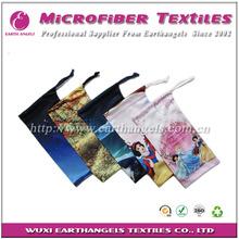 fashion printing microfiber case for 3d glasses, optical frame bag