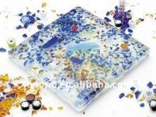 Various types of beautiful glass block