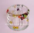boîte acrylique de tissu de modèle de fruit