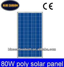 80W Polycrystalline Solar panel price