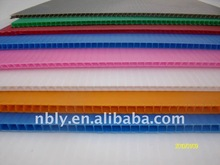 corrugated sheets/board plastic product