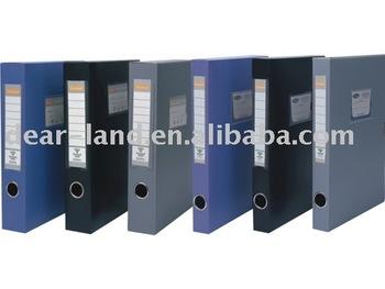 Hard plastic file box, Archives box, file case