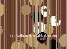 Fashionable design vinyl wall paper for elegant home