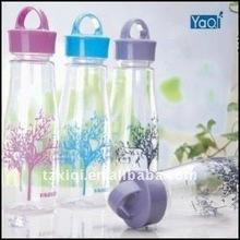 500ml 600ml plastic water bottle