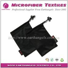 black camera bags, microfiber optical lens glasses cloth pouch