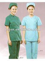 100% Cotton New Design Fashionable Nurse Uniform For Hospital Worker MU-80