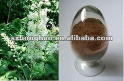 Small Package Available 2.5%, 5% Triterpene glycosides HPLC Brown Powder Black Cohosh Extract