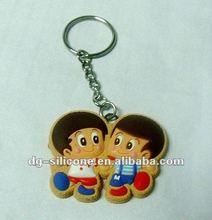 2012 New custom design handcraft pvc keychain for souvenir items