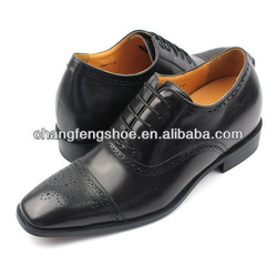 height increasin real leather shoes