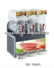 slush machine with 3 bowls