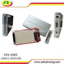 USB SATA&IDE Laptop hard disk case with BIG PCB