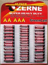 AA+AAA BATTERY 40pcs blister packaging