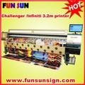 La venta caliente!! Challenger/infiniti fy-3206r disolvente bandera de la flexión de la máquina( spt510/35pl, la cabeza 6, color 6)
