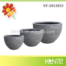 high strength textured pottery pot,cheap pottery,pottery
