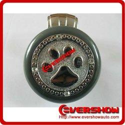 Car gear shift knob with dog paw print steering wheel knob ESK0001