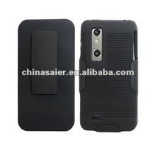 2012 hot selling holster combo hard cases for LG p925 with belt clip