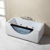 2014 new design Whirlpool massage bathtub with glass Q308N