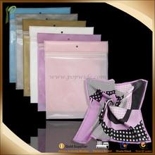 Guangdong Popwide wholesale clear PE multicolor waterproof packing zip lock bag
