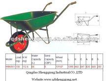 good quality hand tool,Pb-free and UV powder coating,wheelbarrow WB6501