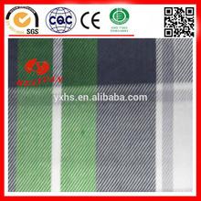 Cotton twill plaid Fabric china supplier