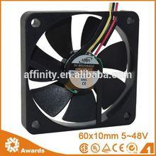 fan water cooling for 60mm cooling fan