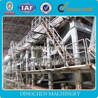 Henan Zhengzhou Dingchen best seller 2400mm newspaper printing machine for sale,newsprint paper making machine