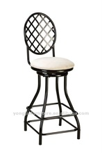 Home Furniture General Use and Metal Bar Stool
