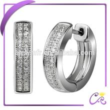 latest sterling silver hoop earrings, silver earring designs