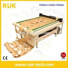 paper pattern flatbed cutter plotter