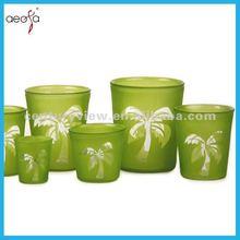 Notice!!! GLASS Cheap More Design Flower Special Colored Pots Garden