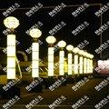 Artificiels, translucide. colonne pour décoration de l'hôtel