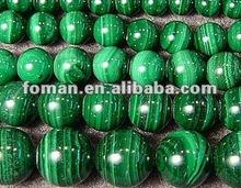 6mm round natural loose gemstone malachite gemstones