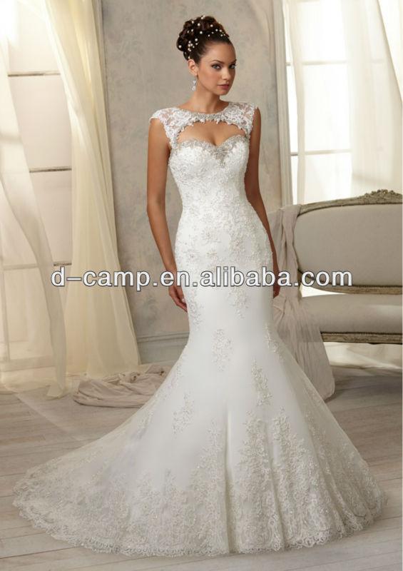 Wd-2187 China custom made vestido de noiva da arábia saudita vestidos de casamento da China belos vestidos de noiva árabe em dubai