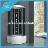 high quality tempered glass enclosed steam shower room