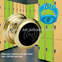 Electronic RFID Wrist key Digita popular spa locker lock 115