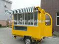 Móvel de sorvete soft trailer móvel de cozinha carrinhos de comida rápida para venda ys-fv175
